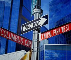 One way, acrylic on canvas, 120x100cm 2012
