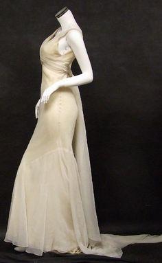 Edith Head costume design for Jean Harlow.