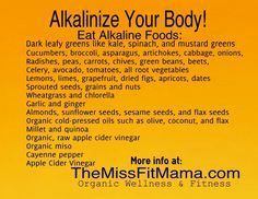 Tips to Alkalinize http://themissfitmama.com/2013/03/20/tips-to-alkalinize-your-body/