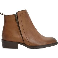 576e4459368 BERTIE Plott double zip leather ankle boots ( 71) ❤ liked on Polyvore  featuring shoes