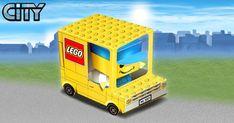 Papertoy LEGO Truck de BoxZet | Paper Toy (The Paper Toys Coop)