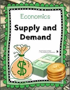 PEDAGOGY Lesson Plan: Economics Supply and Demand for 3-5 grade. This is a unit study with three detailed lesson plans that are 30-45 minutes in length. TPT $5