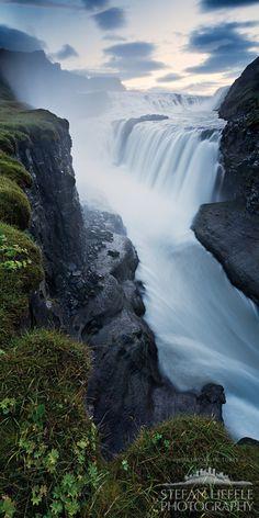 Gullfoss - The golden Waterfall - Iceland