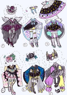 SOLD- Kimono outfit by Guppie-Adopts on DeviantArt