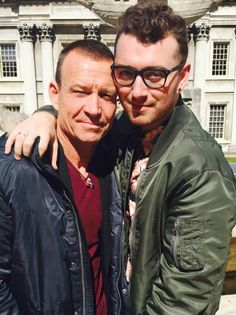 Sam posted, '23 years and 9 months ago this handsome fellow made love to my mama.' Sam Smith's birthday selfie with his dad is super cute - even if the caption freaked us out a little.