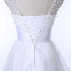 Wedding Dress - Ava Lace Short Wedding Dress
