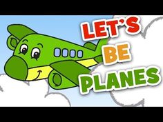 Transportation Songs for Kids Preschool Songs, Preschool Lessons, Preschool Classroom, Classroom Ideas, Kindergarten, Songs For Toddlers, Kids Songs, Airplane Activities, Music