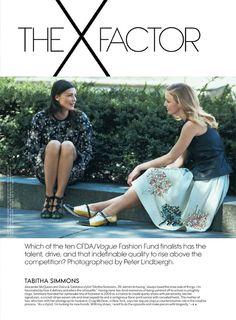 Raquel Zimmermann Joins Designers for Peter Lindberghs Vogue US Shoot