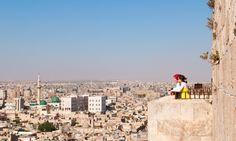View over Aleppo, Syria