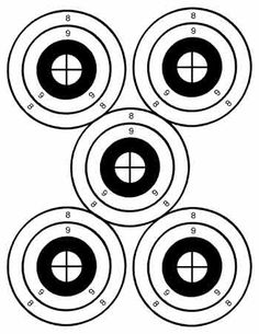 free targets to print for shooting