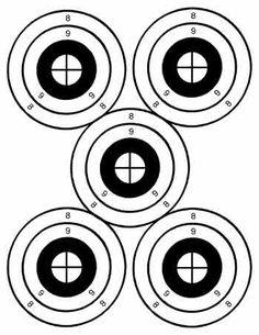 free printable shooting target # 21