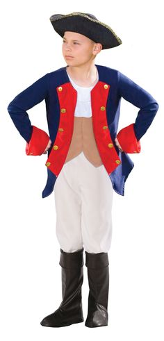 Patriot Soldier Boy Child Costume from BuyCostumes.com
