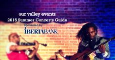 2015 Summer Concerts Guide