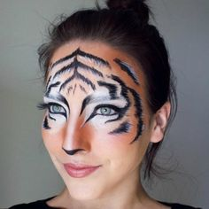 Don't know what to be for Halloween? Try one of these cute cat costume makeup ideas!