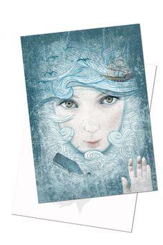 Amarita » Postkaart 'Setting Sail'