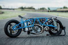THE LOW ROAD. Bernard Mont's 'Nowhere Faster' Nitrous Ducati Sprint Racer - Pipeburn.com