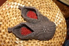 Ravelry: Japanese House Slippers by Therese Timpson