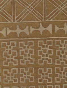 5508 ASHANTI in golden brown with gold Fortuny Printed Cottons Textile Prints, Textiles, Tribal Symbols, Dotted Line, Ethnic Print, Golden Brown, Fabric Material, Printed Cotton, Art Pieces