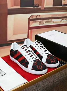 Gucci Ace Sneakers, Gucci Shoes, Men's Shoes, High Top Sneakers, Gucci Gang, Fashion Shoes, Mens Fashion, Mens Clothing Styles, Shoe Collection