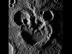 NASA - Mickey Mouse Spotted on Mercury!