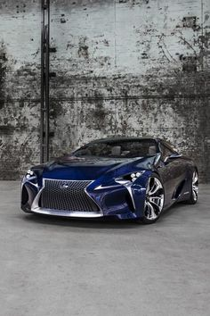 """Lexus LF-LC Blue"" This is one heck of a Lexus...gotta be the most ""radical"" we've seen from them yet! Bring it on...Lexus!"