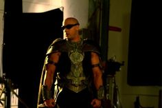 Vin Diesel plays the sci-fi anti-hero Riddick in the Pitch Black franchise as a bad ass kinda guy.