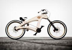 Sawyer DIY lowrider wooden beach cruiser bicycle by Jurgen Kuipers