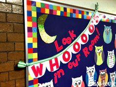 Miss Lovie: Owl Bulletin Board and Scallop Bunting Tutorial
