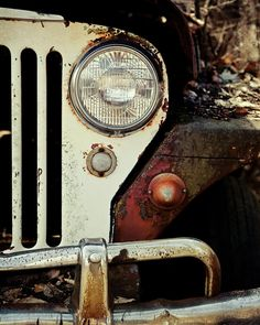 Vintage Jeep Willys Photograph  - Vintage Jeep Willys Fine Art Print