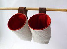 fabric basket to hang on the wall