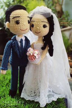 Wedding Crochetdoll ♡ lovely dolls