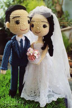 Wedding Crochetdoll