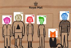 gary hunt: social mail stamps