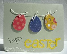Easter cards craft