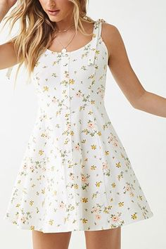 May 2020 - 2020 Women Fashion dusty pink floral dress flower romper dress – swetson Fit And Flare, Fit Flare Dress, Elegant Dresses, Cute Dresses, Casual Dresses, Dresses Dresses, Wedding Dresses, Flapper Dresses, Ladies Dresses