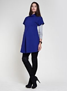The Pleat Tunic | Top | Isabella Oliver- could totally rock this post pregnancy too