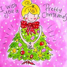 Meisje met een kerstboomjurk- Greetz