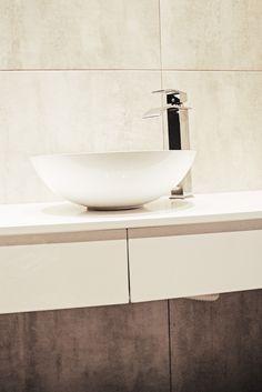 Szafka wisząca pod umywalkę MDF lakierowany