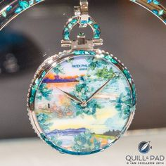 f097fa4485d Dawn on the lake by Anita Porchet for Patek Philippe s 175th anniversary Patek  Philippe Pocket Watch