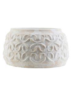 Small Avonlea Wide Pot from Get Zen: Outdoor on Gilt