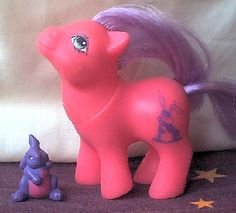 My little Pony! I had so many..I even had the ones where you scratch their butts and they smell like fruits...weird now that I look back on it :-\