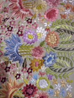 Historical Costume, Historical Clothing, Belle Epoque, Vintage Embroidery, Embroidery Designs, Embroidered Silk, Silk Ribbon, Art Pieces, Textiles