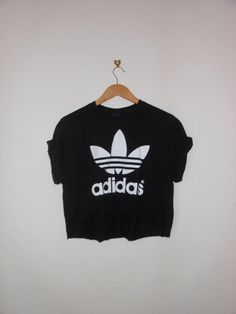 classic back adidas swag style crop top tshirt fresh boss dope celebrity festival clothing urban unique fashion secy