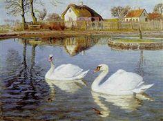 Johannes Larsen - The Ugly Duckling