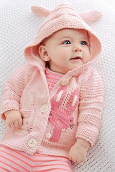Buy Chunky Bunny Hooded Cardigan (0-18mths) from the Next UK online shop
