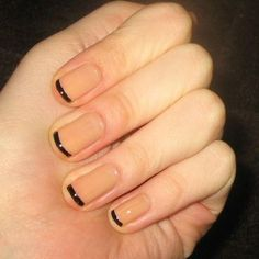 """If I see nails like this, my first reaction is going to be """"Jig, dirty!'.  One thing I can't stand is dirty nails, and who came up with this, probably didn't think what it might look like."""