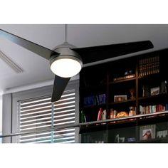 Ventilador de Techo con Luz y mando - FAN 72 Ceiling Fan, Ceiling Lights, Track Lighting, Blinds, New Homes, Curtains, Home Decor, Houses, Distance