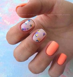 Beautiful Square Nails Design Ideas You'll Want To Copy Immediately – Page 6 – C. - Beautiful Square Nails Design Ideas You'll Want To Copy Immediately – Page 6 – C… Beautiful Square Nails Design Ideas You'll Want To Copy Immediately – Page 6 – Cocopipi Stylish Nails, Trendy Nails, Cute Nails, My Nails, Classy Nails, Minimalist Nails, Square Nail Designs, Nail Art Designs, Floral Nail Art