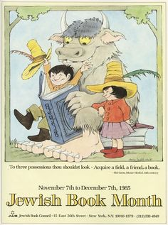 Maurice Sendak's Little-Known and Lovely Posters Celebrating Books and the Joy of Reading – Brain Pickings
