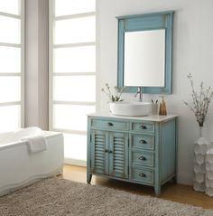 Rosecliff Heights Sneed 36 Single Bathroom Vanity Set with Mirror Beach Bathrooms, Large Bathrooms, Small Bathroom, Minimal Bathroom, Costal Bathroom, Modern Bathrooms, Boho Bathroom, Master Bathrooms, Downstairs Bathroom